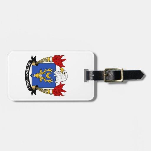 McKenzie Family Crest Luggage Tag