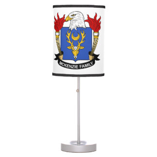 McKenzie Family Crest Table Lamps