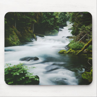 """McKenzie River in summer"" Mouse Pad"
