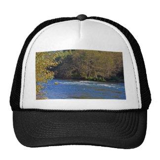 McKenzie River, Oregon Mesh Hat