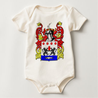 McKeon Coat of Arms Baby Bodysuit