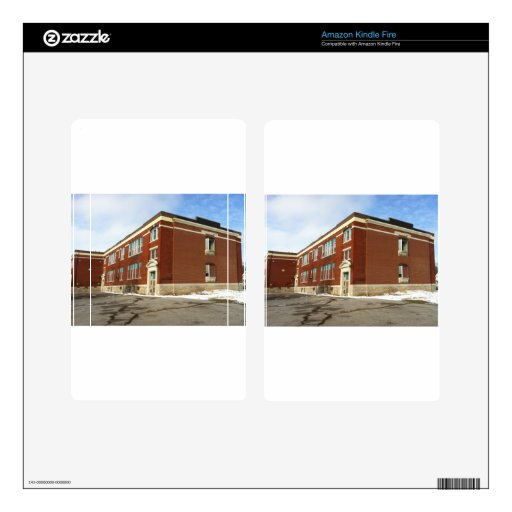 Mckeough school house rocked skin for kindle fire