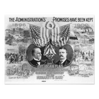 Mckinley 1900 - Roosevelt Anuncios
