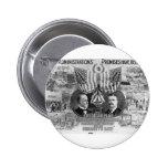 Mckinley 1900 - Teddy Roosevelt Pin