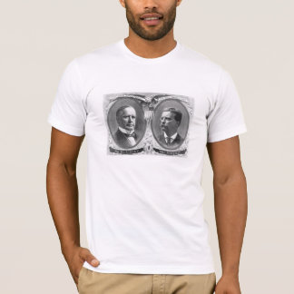 McKinley and Roosevelt Election Poster T-Shirt