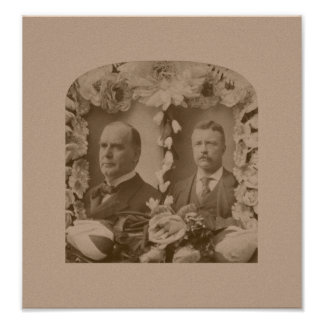 McKinley and Roosevelt Poster