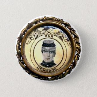 McKinley Civil War Badge - Button