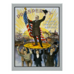McKinley Republican Campaign Vintage Reproduction Posters