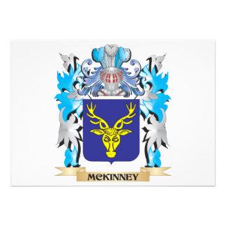 Mckinney Coat of Arms - Family Crest Custom Invitations