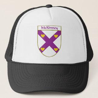 McKinney Coat of Arms/Family Crest Trucker Hat