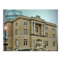 McKinney Courthouse Postcard