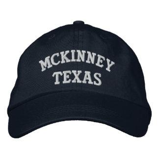 McKinney Embroidered Baseball Hat
