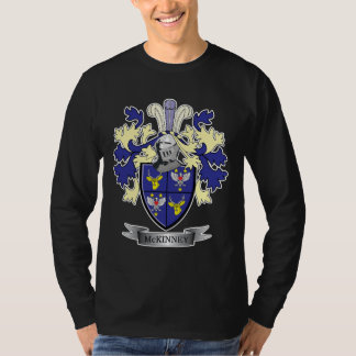 McKinney Family Crest Coat of Arms T-Shirt