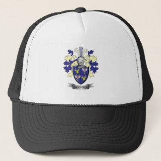 McKinney Family Crest Coat of Arms Trucker Hat