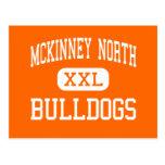 Mckinney North - Bulldogs - High - McKinney Texas Postcard