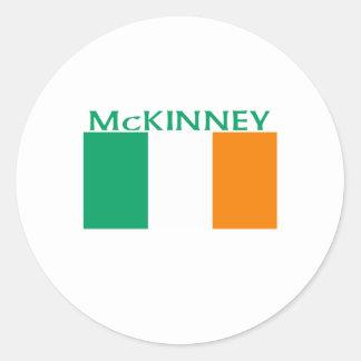 McKinney Classic Round Sticker