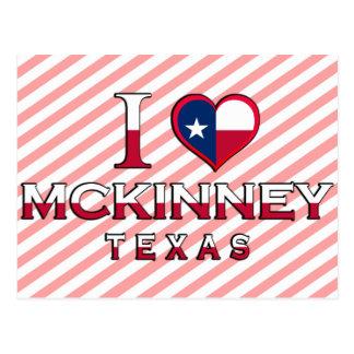 McKinney �, Texas Postcard