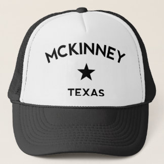McKinney Texas Trucker Cap