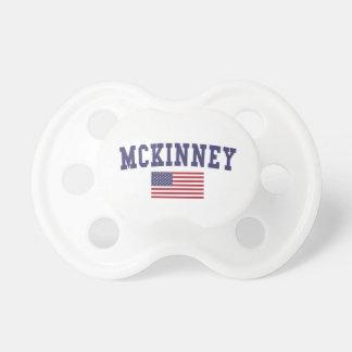 McKinney US Flag Pacifier