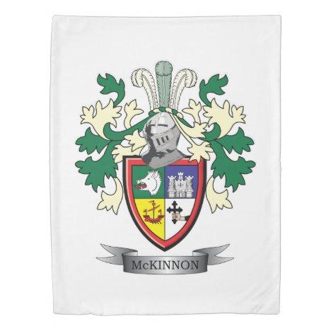 McKinnon Family Crest Coat of Arms Duvet Cover