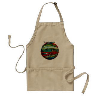 MClairArt's Funny Sun Faces Gifts Adult Apron