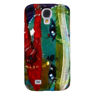 MClairArt's Funny Sun Faces Gifts Samsung Galaxy S4 Cover