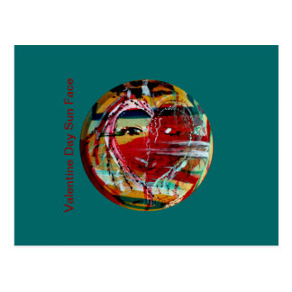 MClairArt's Funny Sun Faces Greeting Cards