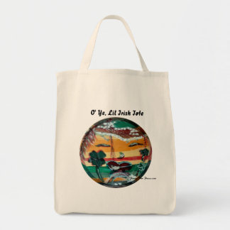 MClairArt's Funny Sun Faces St. Patrick's Day Gift Tote Bag