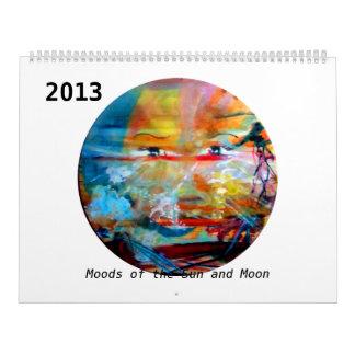 MClairArt's FunnySunFaces 2013 Calendar