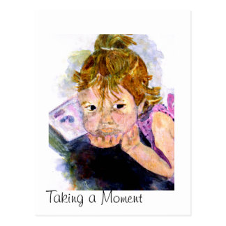 MClairArt's Moments N Art Gifts Postcard