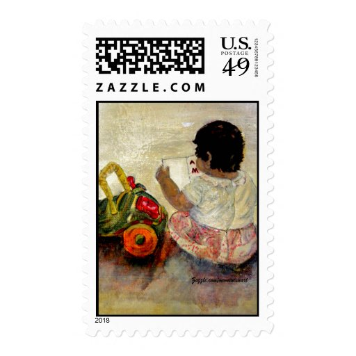 MClairArt's Moments N Art Postage