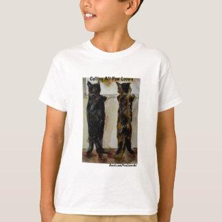 MClairArt's Paw Lovers Art Gifts T-Shirt