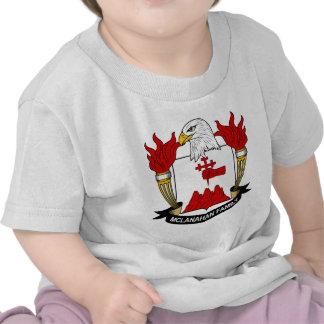 McLanahan Family Crest Tshirt