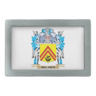 Mclaren Coat of Arms - Family Crest Belt Buckles