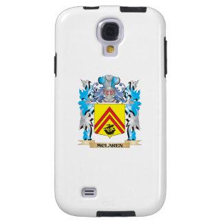 Mclaren Coat of Arms - Family Crest Galaxy S4 Case