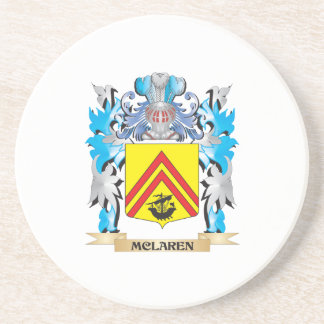 Mclaren Coat of Arms - Family Crest Drink Coasters