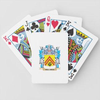 Mclaren Coat of Arms - Family Crest Poker Cards