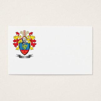 McLaughlin Coat of Arms Business Card