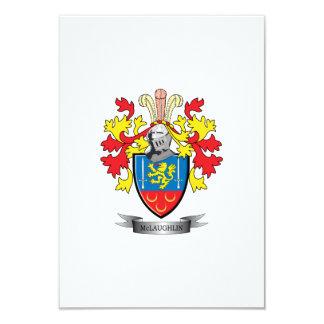 McLaughlin Coat of Arms Card