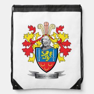 McLaughlin Coat of Arms Drawstring Backpack
