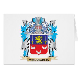 Mclaughlin Coat of Arms - Family Crest Greeting Cards