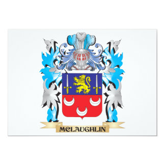 Mclaughlin Coat of Arms - Family Crest Card