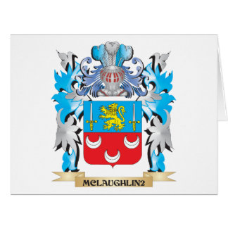 Mclaughlin Coat of Arms - Family Crest Cards