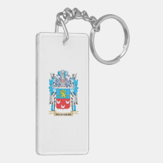 Mclaughlin Coat of Arms - Family Crest Rectangle Acrylic Key Chains