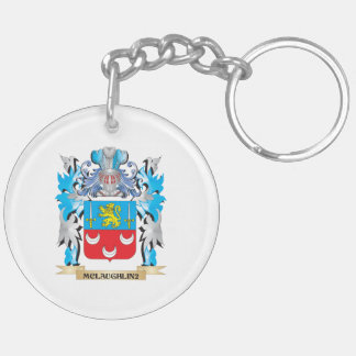Mclaughlin Coat of Arms - Family Crest Key Chain