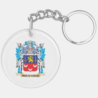 Mclaughlin Coat of Arms - Family Crest Keychain