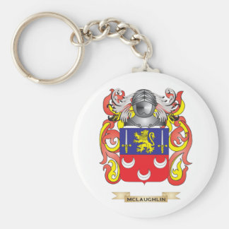 McLaughlin Coat of Arms Family Crest Keychains