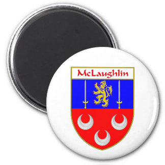 McLaughlin Coat of Arms/Family Crest Magnet