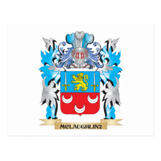 Mclaughlin Coat of Arms - Family Crest Postcards
