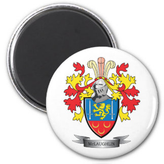 McLaughlin Coat of Arms Magnet